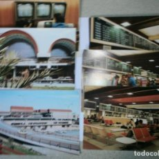 Postales: LOTE 6 POSTALES COLECCION RENFE DE 1975 NUEVAS. Lote 142172666