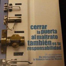 Postales: POSTAL DÍA INTERNACIONAL CONTRA LA VIOLENCIA HACIA LAS MUJERES, 25 DE NOVIEMBRE.. Lote 142465546