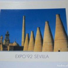 Postales: TARJETA POSTAL EXPO' 92 SEVILLA LAS MAGNÍFICAS CHIMENEAS. Lote 142683882
