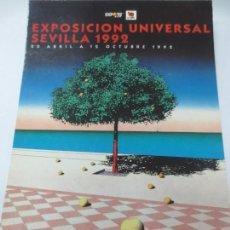 Postales: TARJETA POSTAL EXPO' 92 EXPOICION UNIVERSAL SEVILLA 1992. Lote 142684170