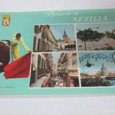 Postales: TARJETA POSTAL RECUERDO DE SEVILLA PACO CAMINO. Lote 142684774