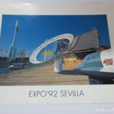 Postales: TARJETA POSTAL EXPO' 92 CIUDAD DEL FUTURO. Lote 142685510