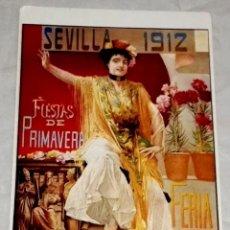 Postales: POSTAL - FIESTAS DE PRIMAVERA, SEMANA SANTA / SEVILLA 1912 / JOSÉ GARCÍA RAMOS. Lote 142914018