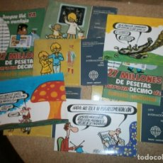 Postales: 9 POSTALES LOTERIAS DEL ESTADO NUEVAS. Lote 146568978