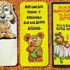 Postales: LOTE 5 POSTALES 04 DE FELICITACIÓN DE CUMPLEAÑOS, MARK I INC 1984, MUY RARO, DIFÍCIL DE CONSEGUIR. Lote 148643770