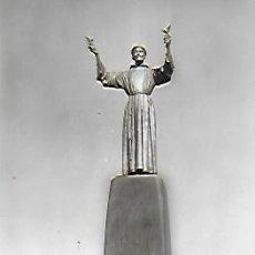 Postales: EL PARE SADURNÍ DELS OCELLS. MONUMENT DEDICAT A RUYRA A BLANES. VISITA ORFEÓ CATALÀ 12 JULIOL 1959.. Lote 149660614