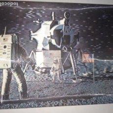 Postales: HOSTAL EN 3D LLEGADA DEL HOMBRE A LA LUNA. Lote 150858718