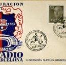 Postales: NOU CAMP. INAUGARCIÓ ANY 1957. Lote 160100058