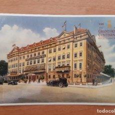 Postales: POSTAL GRAND HOTEL CONTINENTAL. CENTENARIO 1992 . Lote 161569938