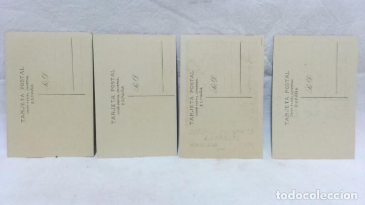 Postales: 4 TARJETA POSTAL + PROGRAMA ACTOS + RECUERDO. EXPOSICIÓN GENERAL ESPAÑOLA SEVILLA 1928. VER - Foto 3 - 162688122