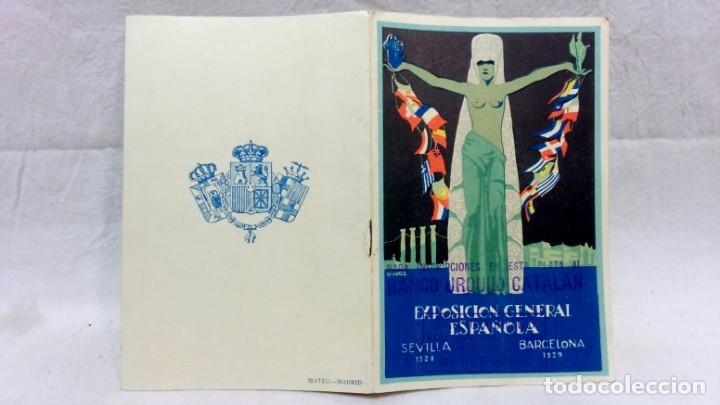 Postales: 4 TARJETA POSTAL + PROGRAMA ACTOS + RECUERDO. EXPOSICIÓN GENERAL ESPAÑOLA SEVILLA 1928. VER - Foto 4 - 162688122