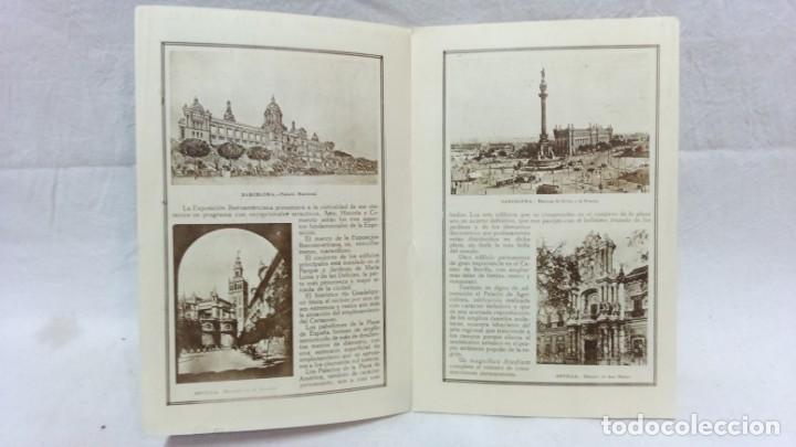 Postales: 4 TARJETA POSTAL + PROGRAMA ACTOS + RECUERDO. EXPOSICIÓN GENERAL ESPAÑOLA SEVILLA 1928. VER - Foto 6 - 162688122