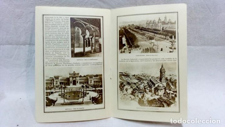 Postales: 4 TARJETA POSTAL + PROGRAMA ACTOS + RECUERDO. EXPOSICIÓN GENERAL ESPAÑOLA SEVILLA 1928. VER - Foto 7 - 162688122