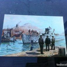 Postales: POSTAL ARMA SUBMARINA. ANIVERSARIO 1915-1990. CARTAGENA, 1990. SUBMARINO CLASE D. Lote 163619090