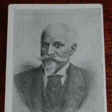 Postales: FRANCISCO FERRER. PROPIETARIO Y DIRECTOR DE ESCUELA MODERNA DE BARCELONA. ED. GIULIO TUZZI, ED. ROMA. Lote 169402272