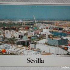 Postales: EXPO 92 TAMAÑO GRANDE EDITADA EN 1986. Lote 171652293