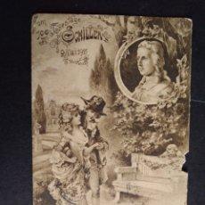 Postales: SCHILLER POSTAL CONMEMORATIVA. Lote 171690655