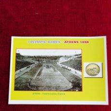 Postais: POSTAL I OLYMPIC GAMES ATHENS 1896. Lote 172361564
