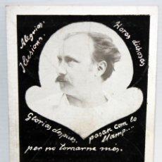 Postales: POSTA 1ºANIVERSARIO - DE LA MUERTE DE FREDERIC BALLERA CASANOVAS - 1922. Lote 172745275
