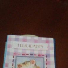 Postales: POSTAL FELICITACION AÑOS 80. Lote 173579982