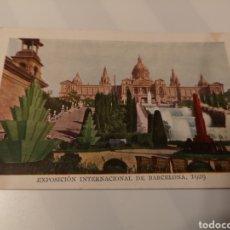 Postales: 023. TARJETA POSTAL. NUM 1489. EXPOSICIÓN INTERNACIONAL DE BARCELONA 1929. Lote 175362517