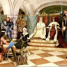 Postales: POSTAL MUSEO DE CERA COLÓN. MADRID. REYES CATÓLICOS Y CRISTOBAL COLÓN. Lote 175852642