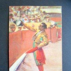 Postales: POSTAL TOROS. BRINDIS DEL MATADOR. B. SIRVEN S.A.E. BARCELONA. POSTAL TAURINA. . Lote 176821750