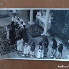 Postales: POSTAL FOTOGRAFICA ALUMNAS SEGUNDO CURSO BACHILLERATO VERDAGUER BARCELONA AÑOS 40. Lote 177392637