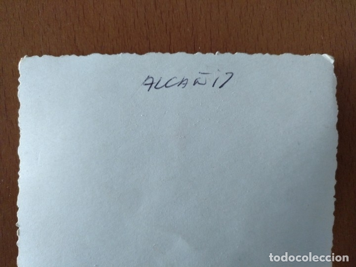 Postales: GRUPO FOTOGRAFIADO EN ALCAÑIZ 9 X 13,5 CM (APROX) - Foto 3 - 177392718