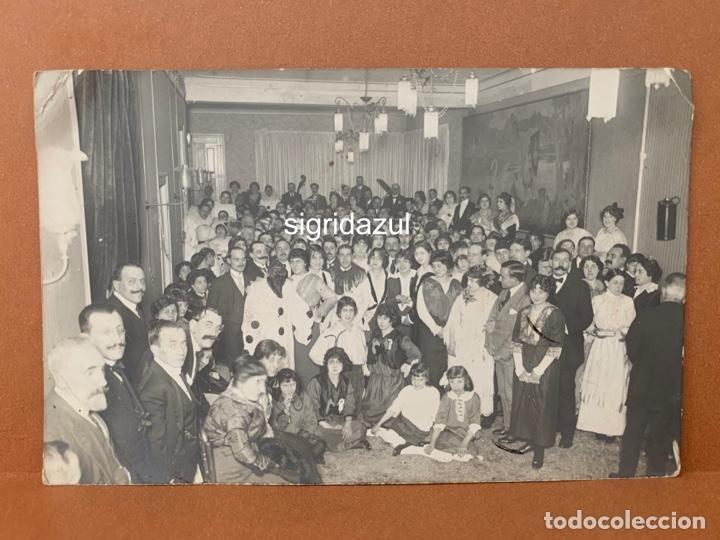 POSTAL ANTIGUA FIESTA CARLOS PEREZ DE ROZAS AÑOS 20-30 (Postales - Postales Temáticas - Conmemorativas)