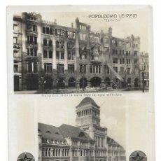 Postales: LEIPZIG - CONGRESO DE ESPERANTO 1929. Lote 178793206