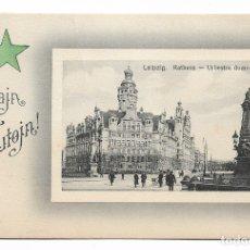 Postales: LEIPZIG - CONGRESO DE ESPERANTO. Lote 178793263