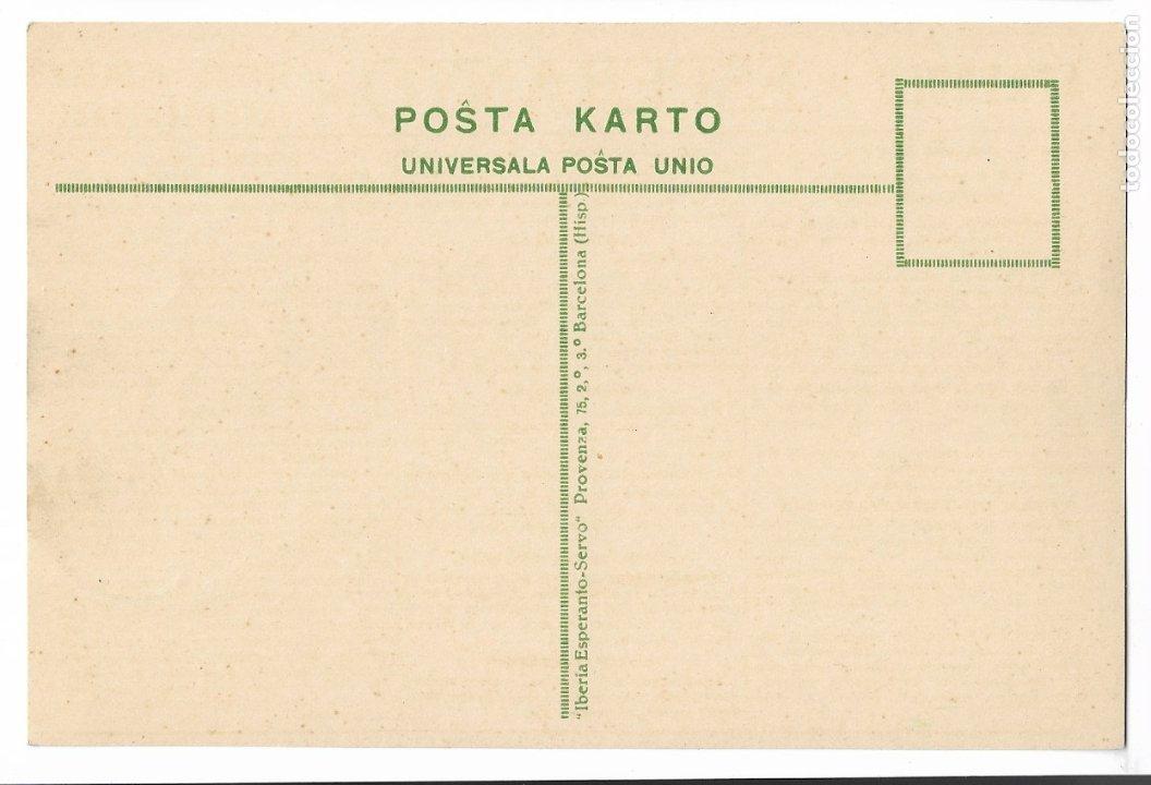 Postales: ESPERANTO - BARCELONA - Foto 2 - 178798763