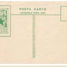 Postales: ESPERANTO - BARCELONA. Lote 178798800