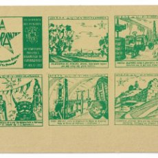 Postales: ESPERANTO - VILAFRANCA DEL PENEDÈS - 1959. Lote 178799048