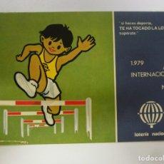 Postales: POSTAL. SERIE L Nº 11 DE E. LARA. AÑO INTERNACIONAL DEL NIÑO 1979. LOTERÍA NACIONAL. NO ESCRITA. . Lote 179137967