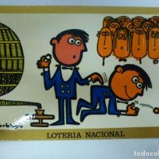 Postales: POSTAL. SERIE H Nº 2. GARBAYO DIBUJOS HUMORÍSTICOS. SERVICIO NACIONAL DE LOTERIAS. . Lote 179138288