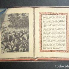 Postales: POSTAL AVENTURAS DE DON QUIJOTE. ATROPELLAN TOROS A DON QUIJOTE Y SANCHO. SERIE 4, Nº 6. Lote 180489795