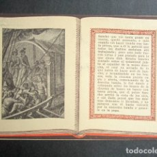 Postales: POSTAL AVENTURAS DE DON QUIJOTE. PASA VOLTEANDO SANCHO POR CHUSMA DE LA GALERA. SERIE 4, Nº 9. Lote 180490151