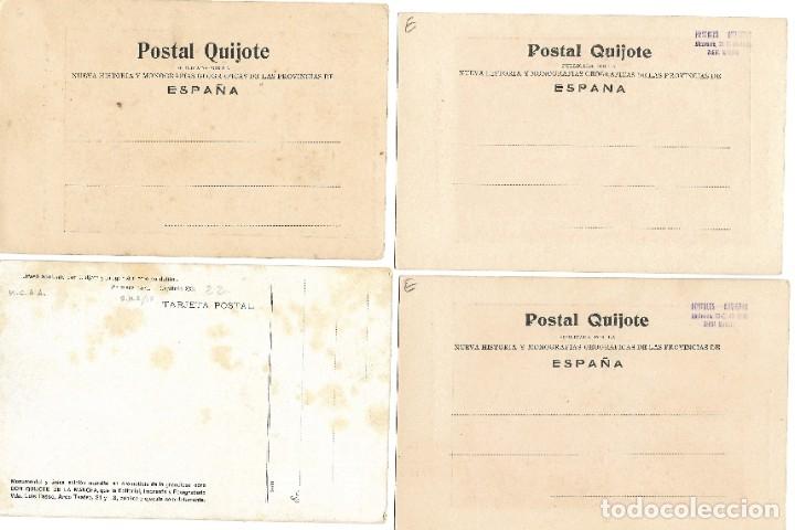 Postales: LOTE 37 POSTALES DON QUIJOTE DE LA MANCHA LA MAYORÍA TERCER CENTENARIO AÑO 1905 MUY RARAS - Foto 7 - 182209838