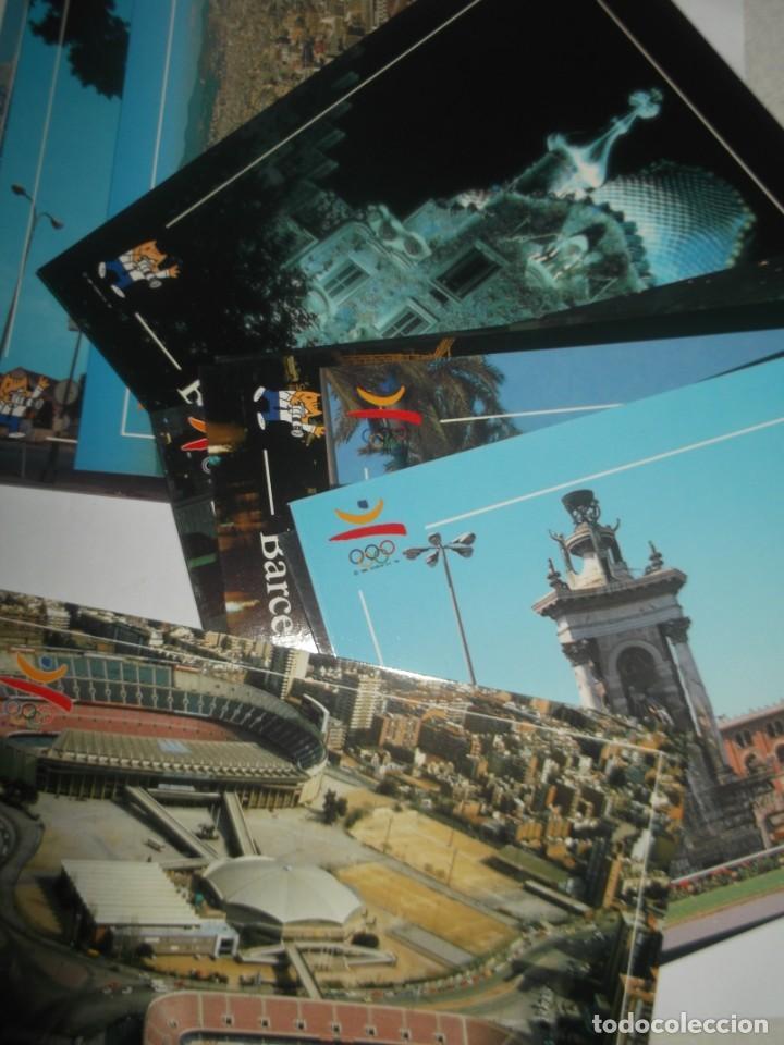 Postales: Carpeta con 12 postales originales Barcelona 92. - Foto 4 - 189986606