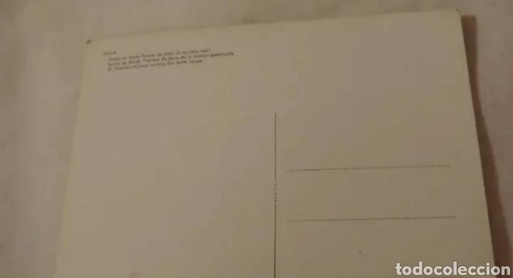 Postales: Tarjeta postal Fournier. Salida de Santa Teresa de Jesús de su casa natal Ávila - Foto 4 - 191532353