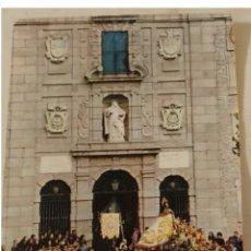 Postales: TARJETA POSTAL FOURNIER. SALIDA DE SANTA TERESA DE JESÚS DE SU CASA NATAL ÁVILA. Lote 191532353