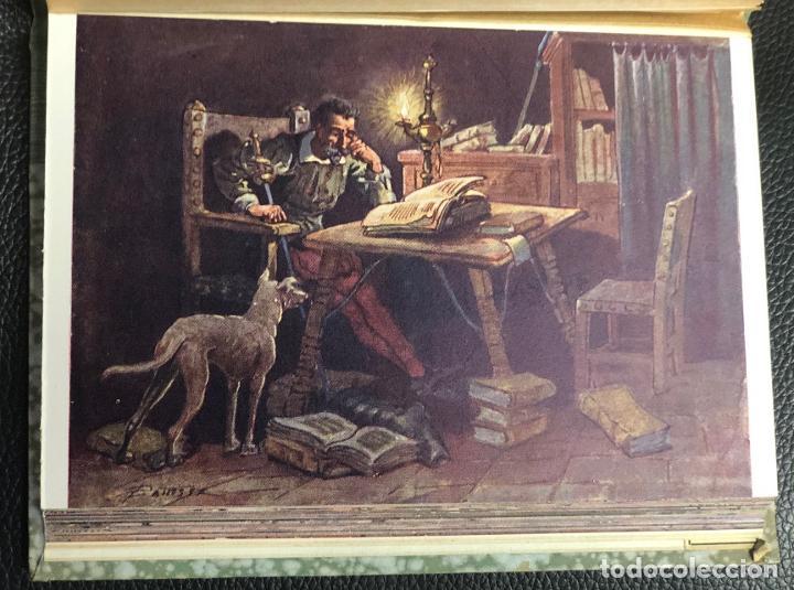 Postales: COLECCION SELECTA DE 25 POSTALES DEL QUIJOTE ORIGINALES DE PAHISSA. RECUERDO CENTENARIO DE CERVANTES - Foto 2 - 193582822
