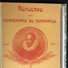 Postales: COLECCION SELECTA DE 25 POSTALES DEL QUIJOTE ORIGINALES DE PAHISSA. RECUERDO CENTENARIO DE CERVANTES. Lote 193582822
