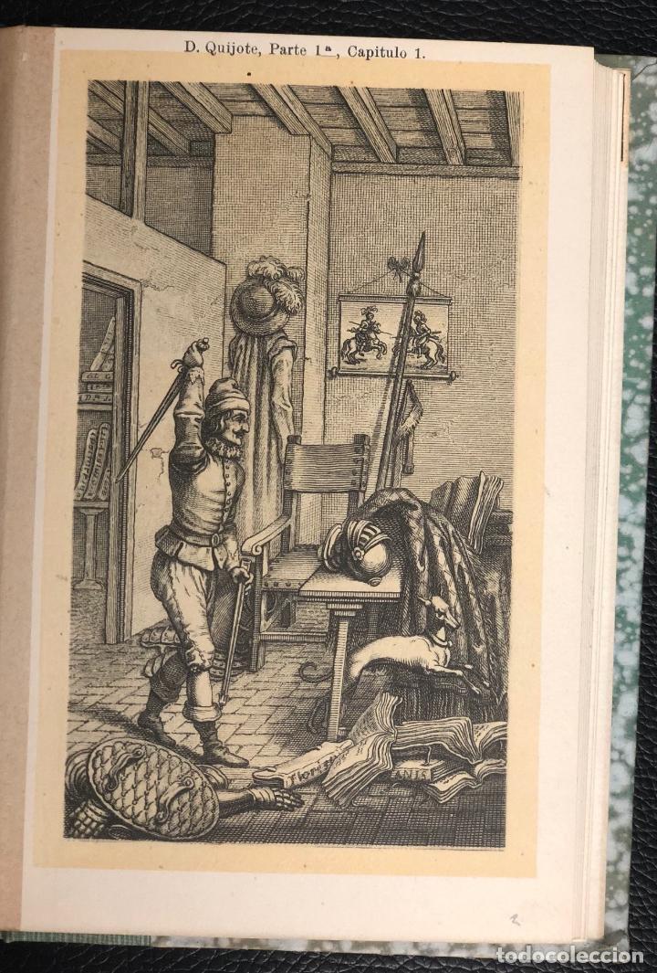 Postales: COLECCION 24 POSTALES DE D. QUIJOTE. ESCENAS DEL CAP. 1 AL 72. REVERSO SIN DIVIDIR. EDICION RARA. - Foto 2 - 193583622