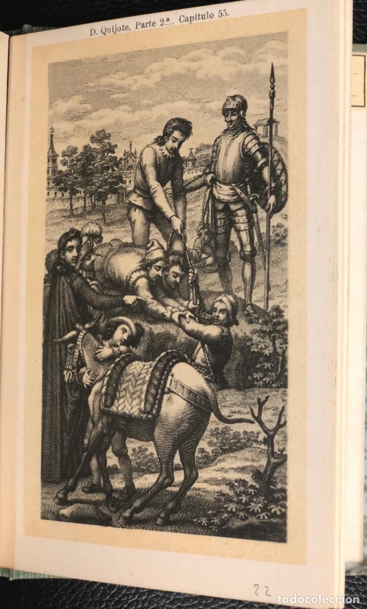 Postales: COLECCION 24 POSTALES DE D. QUIJOTE. ESCENAS DEL CAP. 1 AL 72. REVERSO SIN DIVIDIR. EDICION RARA. - Foto 7 - 193583622