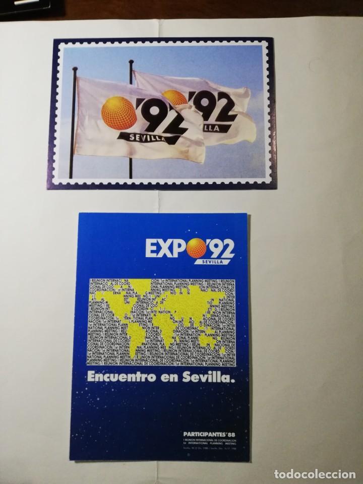 EXPO 92 (Postales - Postales Temáticas - Conmemorativas)