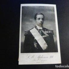 Postales: ALFONSO XIII REY DE ESPAÑA POSTAL PARIS 1905. Lote 195819656