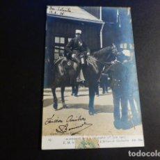 Postales: ALFONSO XIII REY DE ESPAÑA VISITA A PARIS EN 1905 POSTAL. Lote 195819857